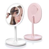 조이룸 충전식 LED 화장대 탁상거울 조명거울