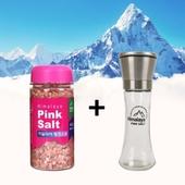 히말라야 핑크소금 선물세트 400g + 그라인더