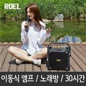 버스킹DJ 블루투스스피커 300W/노래방/앰프/캠핑/무선마이크/DJ모드/에코지원