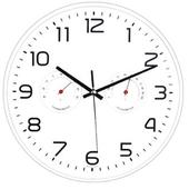 285온습도벽시계