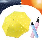 고양이 3단 양우산 / 자외선차단 우산/암막/양산겸용/컬러다양/리버설
