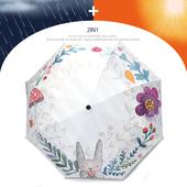 감성토끼 3단 양우산 / 자외선차단 우산/암막/양산겸용/컬러다양/리버설