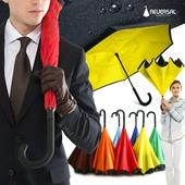 특허] 거꾸로 우산 리버설 basic 장우산_컬러10종 / 인기상품/수동