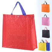 깔끔 사각 쇼핑백 - 로고인쇄가능 / 시장가방