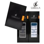 루벨라/남성AP줄무늬/선물세트2족/남성양말세트