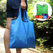 심플접이식 쇼핑백 - 로고인쇄가능 / 시장가방