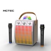 [락클래식 디스코]노래방, 블루투스 스피커 무선마이크2개증정/USB,TF재생/라디오