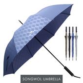송월우산 카운테스마라 장우산 큐브70 우산 s