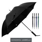 송월우산 SW 장우산 완벽무지70 우산 s