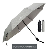 송월 카운테스마라 3단우산 큐브완자 우산 s