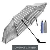 송월 카운테스마라 3단우산 트리플반자 우산 s
