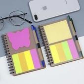 아트다이어리 포스트잇 메모지 휴대간편 사무용품