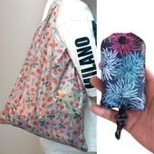 (고급 방수)장바구니 시장가방 에코백 쇼핑백-단추
