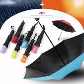 3단 데일리 거꾸로 양우산 / 자외선차단 우산/암막/양산겸용