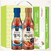멸치액젓 까나리액젓 크린백(3종) 김장세트