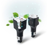 청연MnS 나비 차량용 플라즈마 공기청정기 충전기 NV31-APC30Q