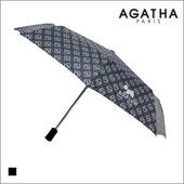 아가타 3단 로고나염 완전자동 우산