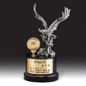 이글 Eagle 기념 금속 크리스탈 골프트로피 gt 015