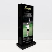 이글 싱글 홀인원 블랙크리스탈 상패 골프기념패 golf 001
