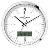 발렌티노 알루미늄 온도계습도계시계 305AMR