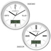 발렌티노 크롬유광 온도계습도계시계 350CMO