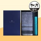 송월타올 송월 CM러쉬40타올 CM3단 비비드우산 2p 콤보세트