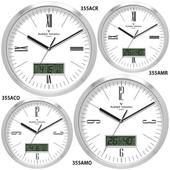 발렌티노 알루미늄 캘린더 온도계 시계 355ACR