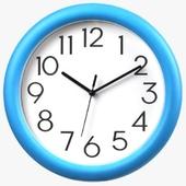 라운드벽시계