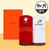 송월타올 크리스마스 산타윙클 타올 1p