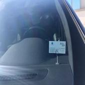차량용 명함,메모,주차증 클립