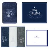송월 크리스마스 징글벨 3매세트+쇼핑백 s