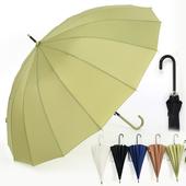 롱 핸들 장우산 - 컬러다양/심플우산/로멘틱우산