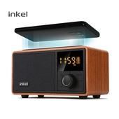 인켈 무선충전시계 블루투스스피커 라디오 알람시계