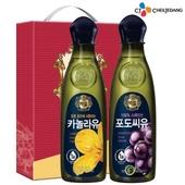 백설 카놀라유 포도씨유(2종)-타신