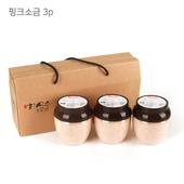 신안화산수천일염 핑크소금 3P세트 (500g +3ea)