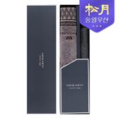 송월타올 카운테스마라 아가일44 타올 + 송월 2단 격자문양 우산 2p 세트