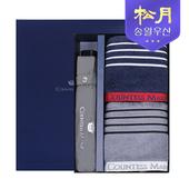 송월타올 카운테스마라 포라인 스포츠 타올 + 카운테스마라 3단 폰지 우산 2p 세트
