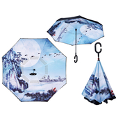 거꾸로 장우산 - 블루제비 C _수동 / 인기상품/ 아이디어 / 로고가능