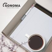 소노마[Soft] A4 노트패드5colors