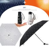 5단 암막 양우산 - 깜찍도트 /미니/컬러다양/자외선차단/양산겸용/우산/양우산/우양산/암막양산/UV차단