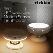 비치온 VN3-SL360 LED 360도 조명 센서등/무드등