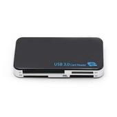 NEXONE 올인원 USB 3.0 멀티 카드리더기 sy-180k 블랙