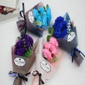 비누 꽃다발 카네이션 비누꽃 박스 선물상자