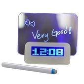 LED  보드 펜세트 시계 - 탁상시계, 메모 LED보드, USB연결, 로고가능