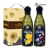 백설 카놀라유500/포도씨유500(2종)