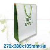 [쇼핑백]종이쇼핑백-1