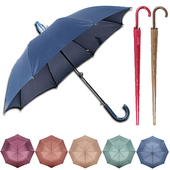 고급형 자바라 우산 색상 동일 커버형-비비드 / 아이디어 / 실용성갑 / 리버설/ 로고인쇄가능