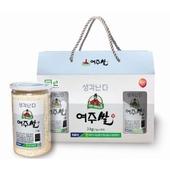 여주 대왕님표 여주쌀 3kg(1kgx3캔)