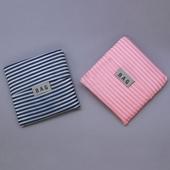 휴대용 접이식 장바구니 스트라이프 패턴