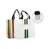 부직포 쇼핑백 대/소 패턴/색동
